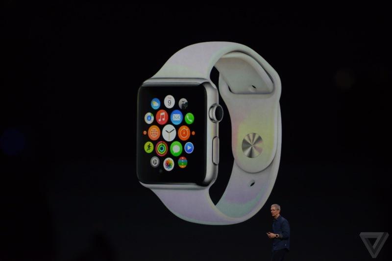 Apple представила свой новый продукт: умные часы Apple Watch