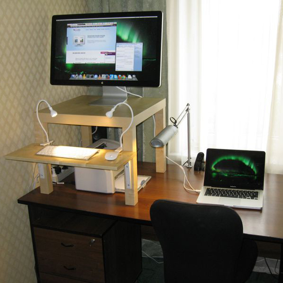 Новая мода: работайте за компьютером стоя!