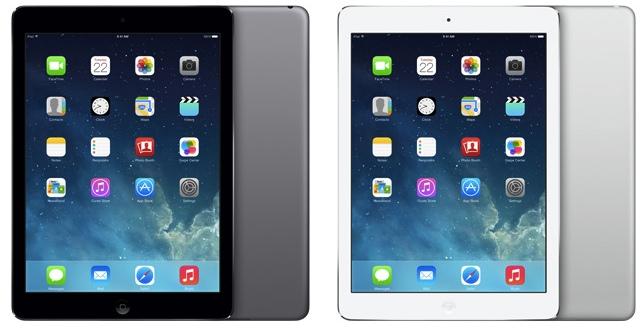 Цена и цвета iPad 5, дата выхода iPad 5 в России